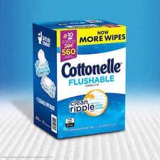 Cottonelle Fresh Flushable Moist Wipes 560 Ct.