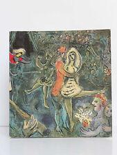 Marc Chagall L'œuvre gravé. Expo du centenaire Musée Chagall à Nice 1987. RMN.