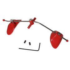 Pro Dental Adjustable Orthodontic Reverse Pull Headgear Facial Mascara Red Color