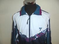 vintage TACTIC Jacke 90s oldschool Sportjacke 90er Trainingsjacke Badminton XL