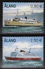 Expédié PASSAGER Ferries Lot de 2 MNH timbres 2011 ALAND #311-2