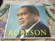 Paul Robeson with chorus and Orchestra circa 1959 Vanguard Recording CD VRS-9037
