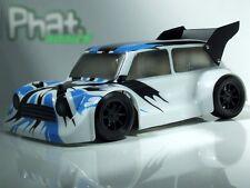 """Phat corps """"BANZAI mini"""" body Losi Mini 8 ight et Carisma GTB LC Racing EMB-1"""
