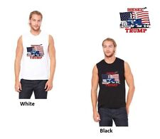 "Limited Edition ""Diesel For Trump"" Muscle T-Shirt L White Only 50 available!"