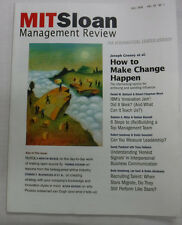 Mit Sloan Management Magazine How To Make Change Happen Fall 2008 072115R2