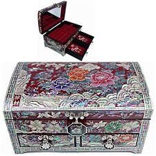 Jewelry Box Mother of Pearl Jewelry Organizer Jewelry Holder Craftsman 5203QR