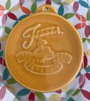 Fiestaware Marigold Ornament 75th Anniversary Dancing Lady Fiesta Retired NIP