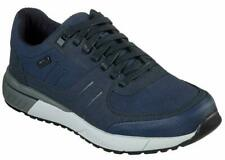 Mens Skechers lace Up Walking Hiking Trainers Blue Size UK 11 Memory Foam