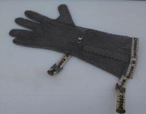 Stechhandschuh Schnittschutzhandschuh Niroflex Größe S Stulpe Honeywell Chainex