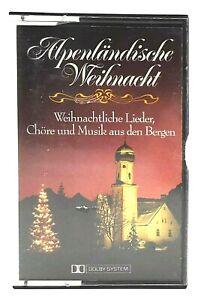 MC Alpenländische Weihnacht - Chöre uvm | Kassette mit Aufnahmen von Ariola EMI