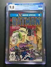 Batman: Official Motion Picture Adaptation #nn CGC 9.8 (DC Comics 1989) COMIC