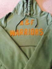 Abercrombie & Fitch Green And Yellow Hoodie Mens Medium