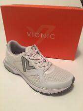 NWB Vionic Satima Women's White Athletic Shoes US Sz 8M   1st Ray Technology