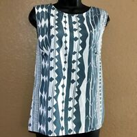 Anthropologie Dolan Left Coast Collection Women's Blouse Sleeveless Size Medium