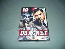 New Sealed Dragnet TV Classic Box Set 10 episodes DVD