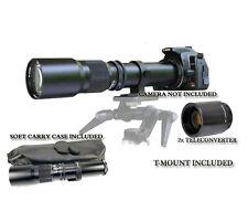 500mm/1000mm Tele Lens for Canon Digital Rebel SL1 T6s T6i T5i 650D 550D 500D 6D