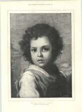 1890 el Buen Pastor de Murillo Museo del Prado en Madrid