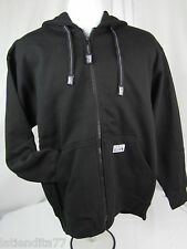PROCLUB Zip Hoodie Sweatshirt Size Medium Black NWT