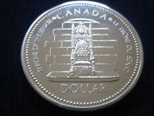 "MDS KANADA CANADA 1 DOLLAR 1977 ""THRONE OF THE SENATE"", SILBER"