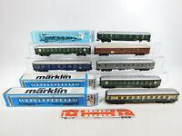 CK740-2# 7x Märklin H0/AC Bastler-Wagen: 4047+4052+4112 etc, Mängel/defekt