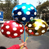 10p 18 inch Helium Foil Polka Dot Balloons  Birthday christmas Party decoration