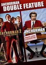 Anchorman / Anchorman 2 Double Feature DVD, Ferrell, Will, Rudd, Paul, Carell, S