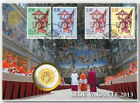 VATICANO MONETE IN EURO 2010 2011 2012 2013 PROOF