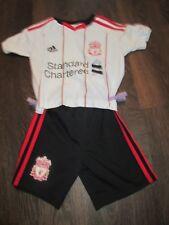 Liverpool 2011-2012 Away Football Shirt Shorts Size 1-2 years kids ynwa /bi