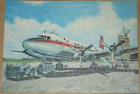 44148 Ak Avion Swissair Airline Flightplane