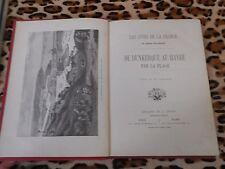 LES COTES DE LA FRANCE : DE DUNKERQUE AU HAVRE PAR LA PLAGE - Lalaing 1886