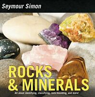 ROCKS & MINERALS by Seymour Simon Book The Fast Free Shipping