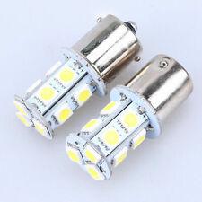 2PCS 1156 13-SMD 5050 LED White Car Turn Signal Stop Light Lamp Bulbs Universal