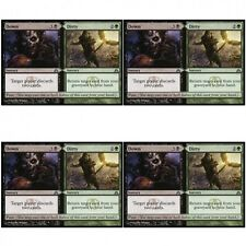 4 x DOWN // DIRTY NM mtg Dragon's Maze Green / Black - Sorcery Unc