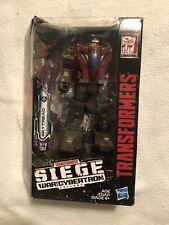 Transformers Siege Skytread / Flywheels War for Cybertron Deluxe Figure Complete