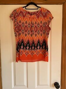 Ladies Blouse / Top from  Billie & Blossom size 16 Petite