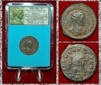 Ancient Roman Empire Coin Of PROBUS Emperor Receiving Victory From Jupiter