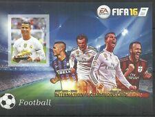 SOMALIA FIFA 16 RONALDO MILAN ICARDI INTER EURO CUP FOOTBALL SOCCER MINT ** MNH