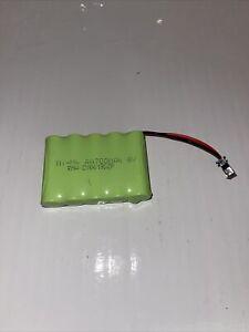 700mAh 6V Ni-Cd AA Battery Rechargeable Batteries SM 2Pin Plug Toy Car/Boat
