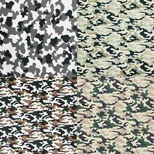 Baumwollstoff Tarnfarben Camouflage 100% Baumwolle Meterware ÖkoTex 50 cm Stoff