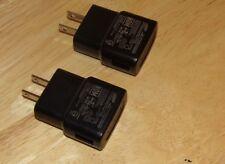 Lot Of 2 Oem Samsung travel Usb wall charger adapter Eta0U60Jbe