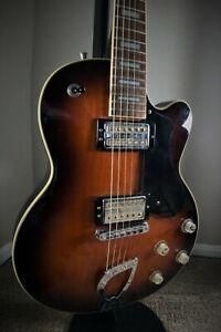 1999 DeArmond M-75 2-Tone Sunburst by Guild W Gold Foil PUs