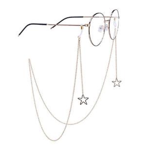 Eyeglass Chains Star Sunglasses Reading Glasses Eyewears Cord Holder Neck Str HB