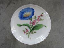 Meissen - Deckel Dose - gestreute Blumen - Streublumen mit Goldrand
