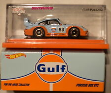 HOT WHEELS REDLINE CLUB GULF PORSCHE 993 GT2 CRACKED W+