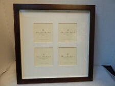 Pottery Barn Wood Gallery Frame, 4 3x3 openings