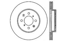 StopTech Sport Drilled/Slotted Disc fits 1990-2008 Honda Civic Civic del Sol Fit