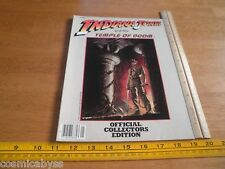 1984 Indiana Jones and the Temple of Doom Official Movie Collectors Edition