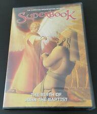 Superbook: The Birth of John the Baptist (DVD) Christian CBN kids show NEW