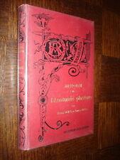 HISTOIRE DE L'ANATOMIE PLASTIQUE - M. Duval E. Cuyer 1898