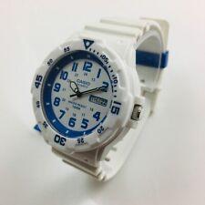 Men's Casio Analog White Resin Band Watch MRW200HC-7B2V